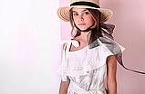Батистовое  детское платье  р-ры 164, фото 3