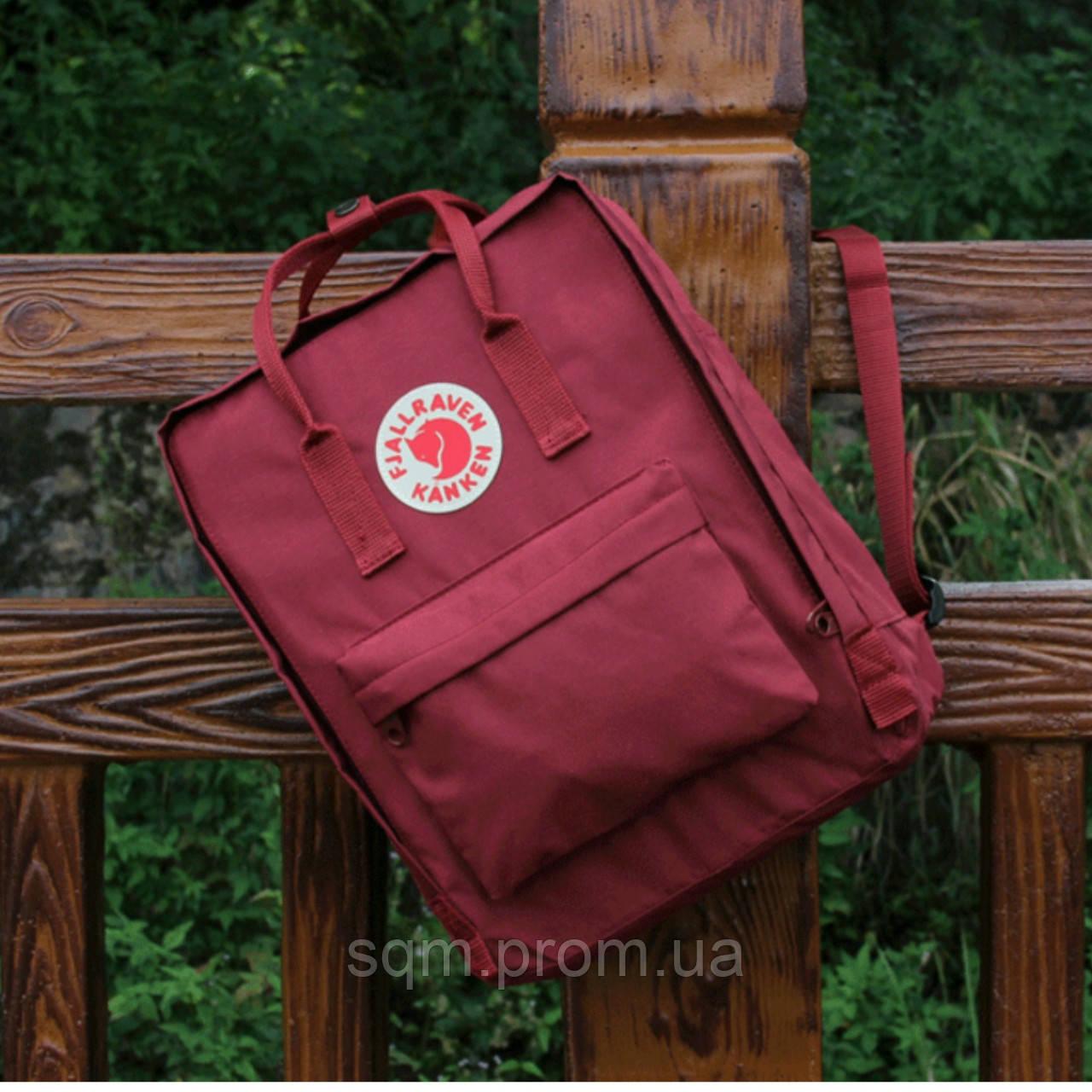 2d6934c6e163 Рюкзак Канкен сумка портфель Kanken Fjallraven Classic текстиль  рефлективное лого 8 цветов 16л реплика