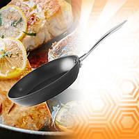 Сковорода универсальная Zurrichberg ZB-2008 литая с антипригарным покрытием 24 см