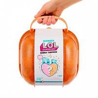Игровой набор с куклами Лол - Сердце-сюрприз. L.O.L. Surprise. (Оранжевый или розовый кейс). ОРИГИНАЛ! 556268
