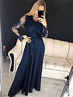 Вечернее платье в пол 2019