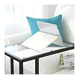 IKEA ИСБЕРГЕТ Подставка для планшета, белый, 25x25 см, фото 3