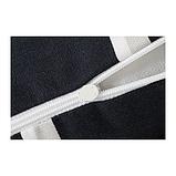 IKEA VITAXFLY Подушка-підголівник, чорний, білий, фото 2