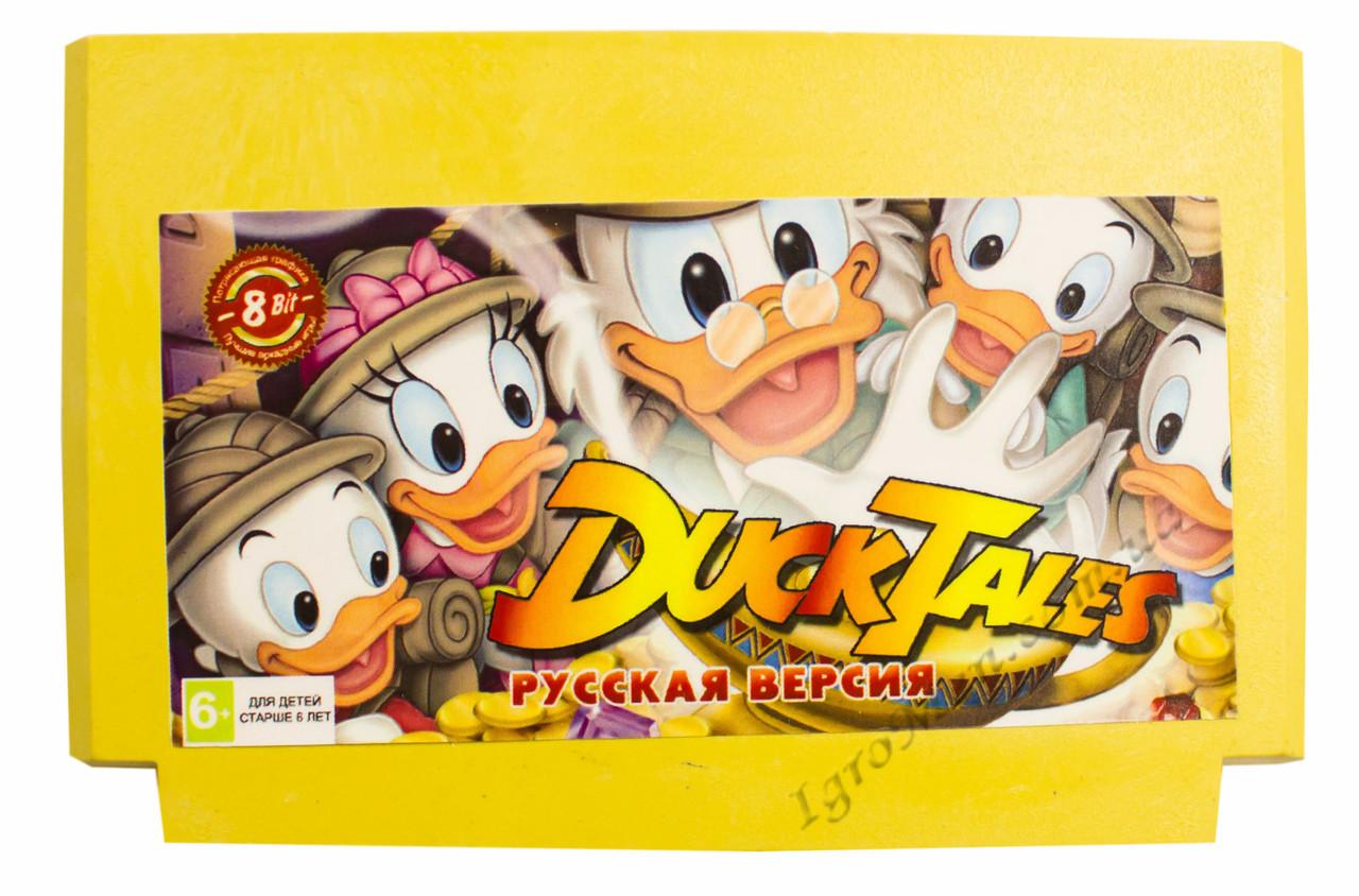 Картридж денди Duck Tales (Утиные Истории)