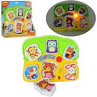 Развивающая игра для малышей «Музыкальные пазлы- Животные»0771-NLWinFun, 24х20 см