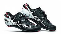 Взуття SIDI шосейне SHOT Matt Black/White 45