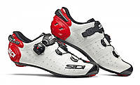 Взуття SIDI шосейне Wire 2 Carbon White/Black/Red 46
