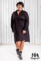 Платье большого размера / хлопок / Украина 7-2-604, фото 1