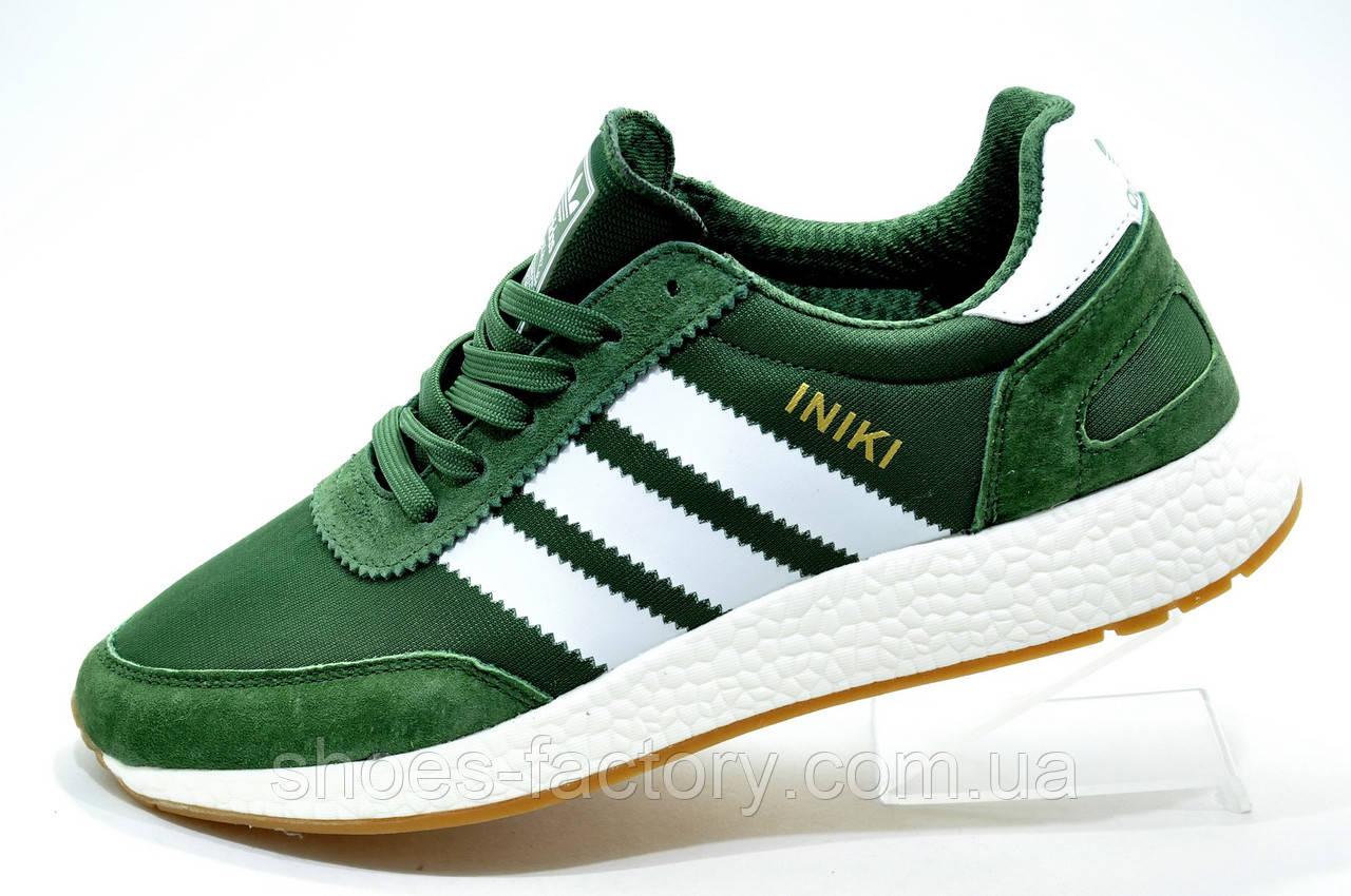 Мужские кроссовки в стиле Adidas Originals Iniki Runner, Green