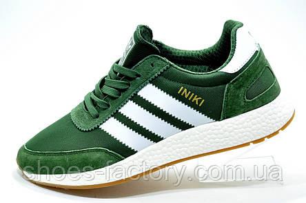 Мужские кроссовки в стиле Adidas Originals Iniki Runner, Green, фото 2