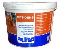 Aura Luxpro Residens TR 9л Бесцветная матовая краска для внутренних и наружных работ арт.4820166522613