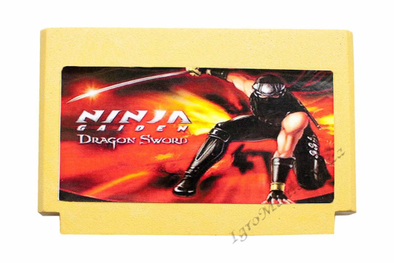 Картридж денді Ninja Gaiden 2 Ryuukenden