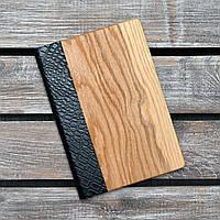 Блокноты с деревянной обложкой. (А00318)