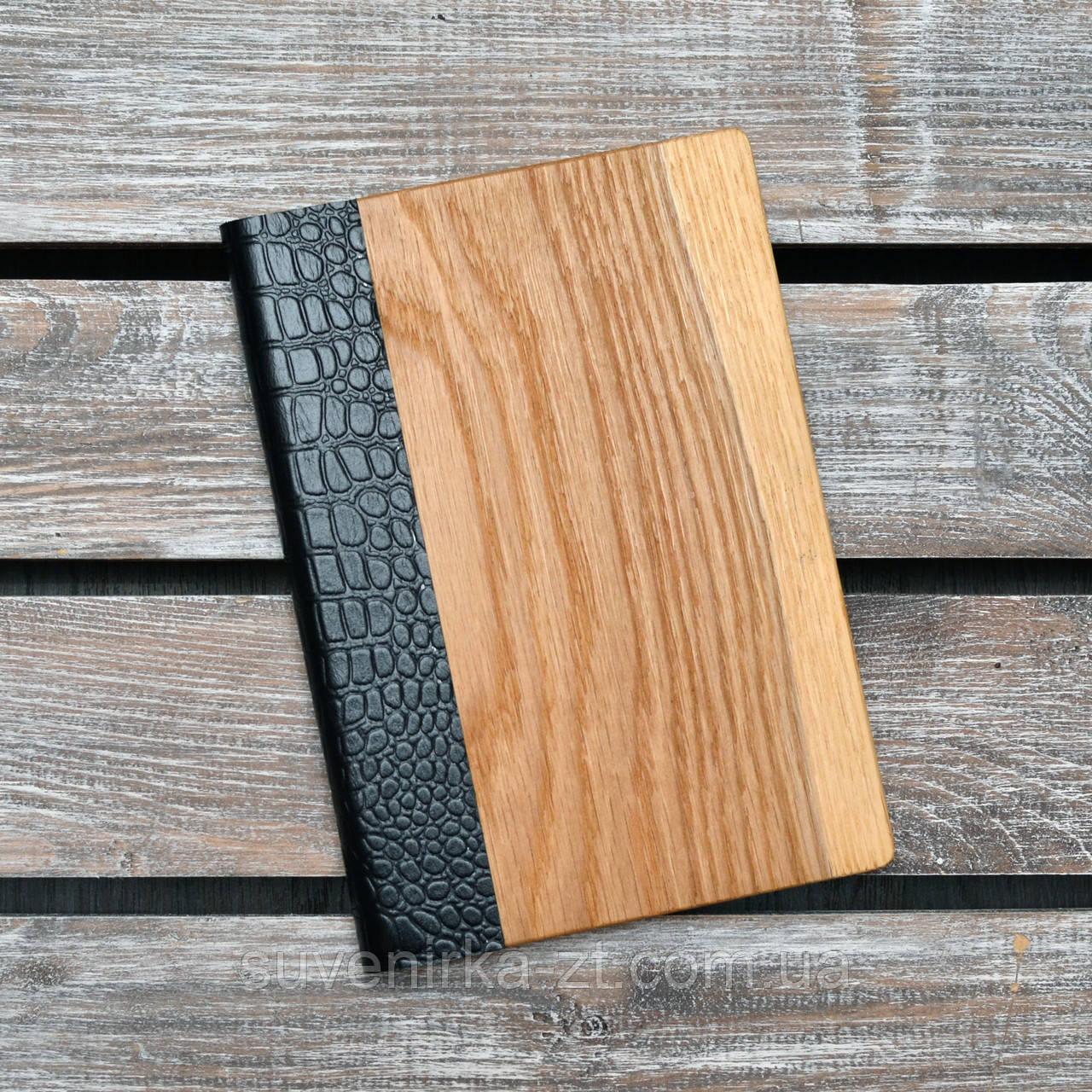 Блокноты с деревянной обложкой. (А00319)