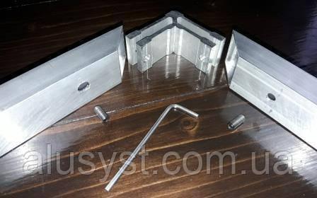 Крепление угловое для квадратной и прямоугольной трубы