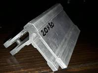 Угловой крепеж для трубы прямоугольной 20х80 мм, фото 1