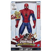 Большой, говорящий Человек-Паук 30 см, серия Титаны Звук - Ultimate Spider-Man, Titans, Hasbro - 138276