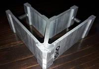Стык угловой для трубы квадратной 40х40 мм, фото 1