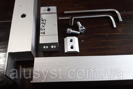Стык соединительный для трубы (потайной)