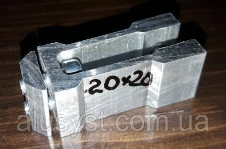 Крепеж потайной для трубы квадратной 20х20мм