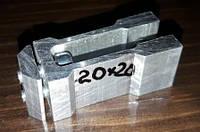 Кріплення потаємний для труби квадратної 20х20мм, фото 1