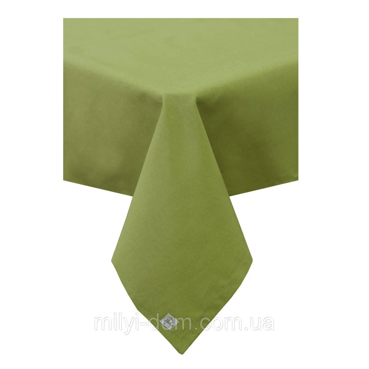 "Скатерть ""Зелень"", 60% хлопок, 132х220 см"