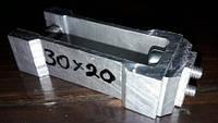 Стык соединительный трубы прямоугольной 30х20мм, фото 1