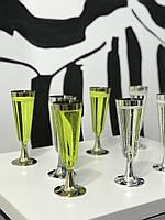 Набор бокалов стеклопластик для ресторанов кафе баров бассейнов гостиниц аквапарков CFP 6шт/уп 55мм 130мл