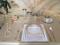 Набор посуды стеклопластик дляресторанов кафе баров бассейнов гостиниц аквапарков CFP 116шт/6пер