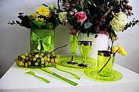 Набор вилок стеклопластик CFP для  ресторанов кафе баров бассейнов гостиниц аквапарков 24шт/уп 130 мм