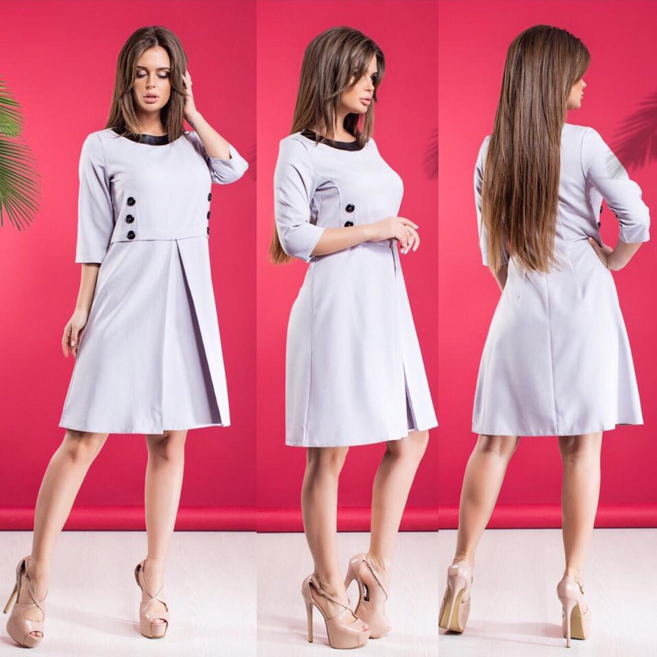 Платье / костюмная ткань / Украина 15-455