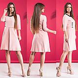 Платье / костюмная ткань / Украина 15-455, фото 4