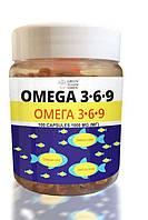 Добавка диетическая к рациону питания Омега 3-6-9 банка 1000 мг N 100