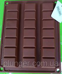 Форма силіконова для шоколаду Батончики