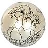 """Мяч детский MS 1900, 9 дюймов/23 см,с рисунком """"Зайчик"""", 60-65 г, 6 цветов, фото 2"""