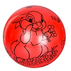 """Мяч детский MS 1900, 9 дюймов/23 см,с рисунком """"Зайчик"""", 60-65 г, 6 цветов, фото 6"""