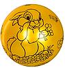 """Мяч детский MS 1900, 9 дюймов/23 см,с рисунком """"Зайчик"""", 60-65 г, 6 цветов, фото 7"""