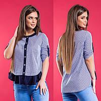 Женская рубашка / хлопок / Украина 15-647, фото 1