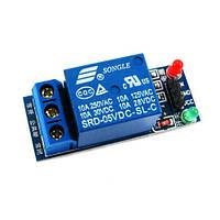 1 канальный модуль реле 5В, реле для Arduino, фото 1