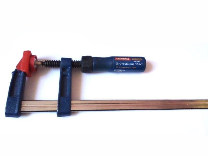 Струбцина столярная 43-642 DIN 250х50мм Technics