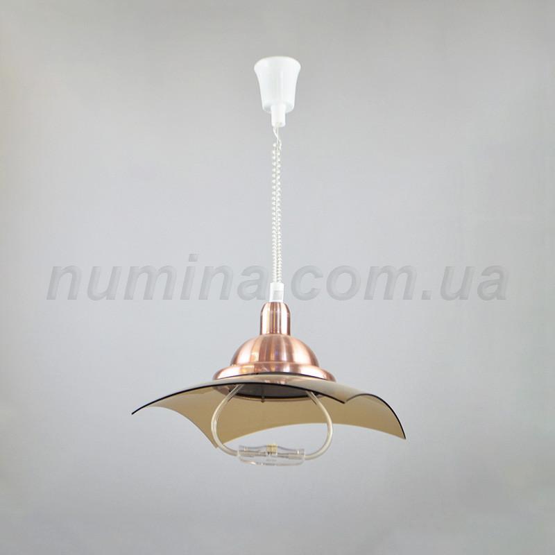 Люстра подвесная на одну лампу 29-X550/1BR+CR