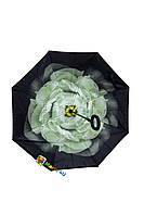 Зонт Трость Оригинал + Чехол Бесплатная Доставка Ветрозащитный Обратного Сложения Наоборот Антиветер Роза