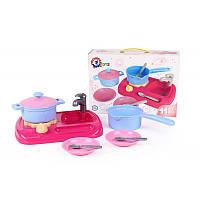 Игровой набор Детская кухня с посудой 5989, 11 предметов, ТехноК