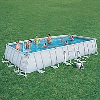 Каркасный бассейн 732 x 366 x 132 см Bestway 56475