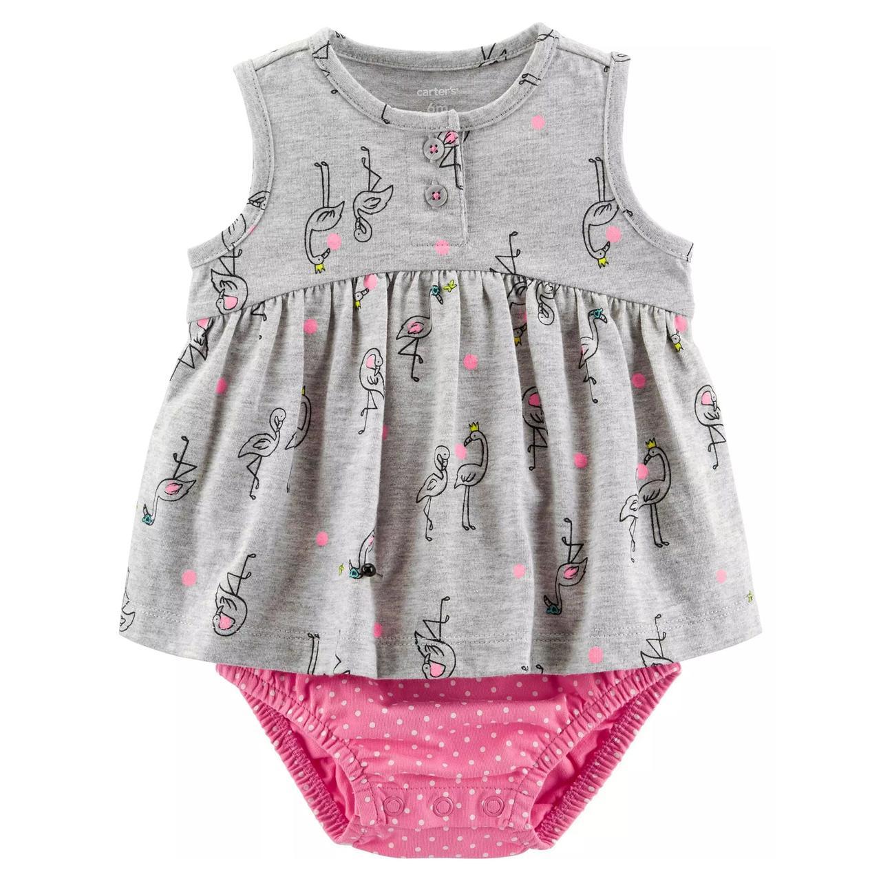 Платье-бодик Carter's для девочек (CША)