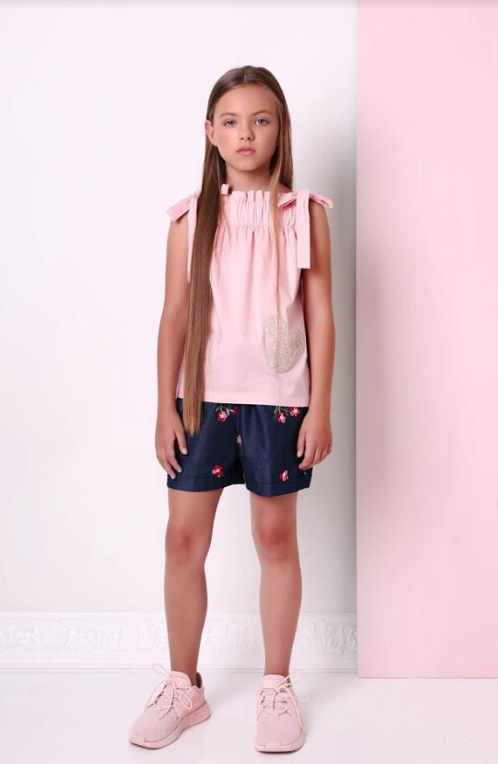 Летние  шорты для девочки ТМ МОНЕ р-р 158,164