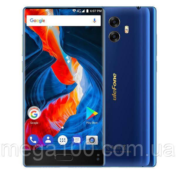 """Смартфон Ulefone Mix синий цвет (""""5,5 экран, памяти 4/64, акб 3300 мАч, 8 ядер, 4G)"""