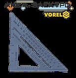 Косинець плотницький пластиковий 180мм Vorel(18530), фото 2