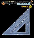 Косинець плотницький пластиковий 180мм Vorel(18530), фото 3