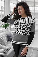 Вязаный легкий свитер «Гуччи»